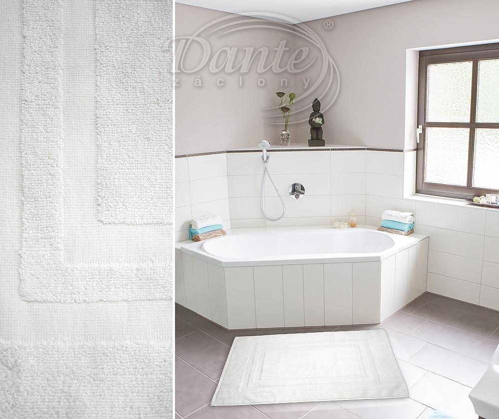 Hotelová koupelnová rohož PRUHY