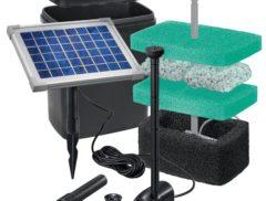 solarni filtrace jezirek